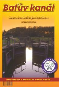 ČR: Baťův kanál - plavební mapa