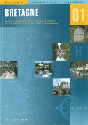 karta: Francie - Bretaň - plavební mapa