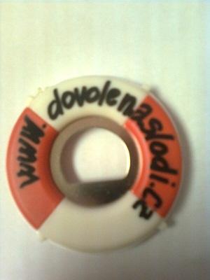 Otvírák lahví -  kruh