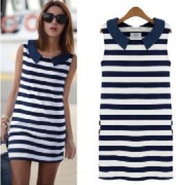 Námořnické letní šaty