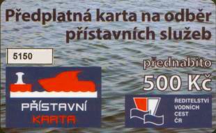 Přístavní karta ŘVC ČR