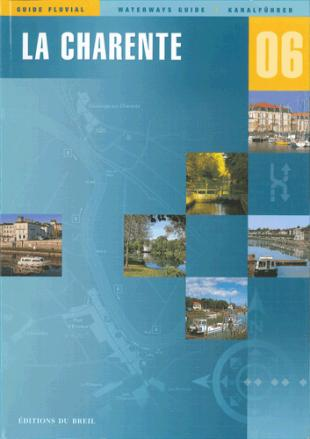 karta: Francie - Charente - plavební mapa