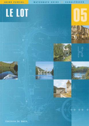 karta: Francie - Lot - plavební mapa