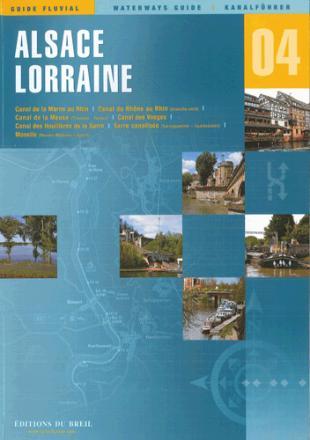 karta: Francie - Alsasko - plavební mapa