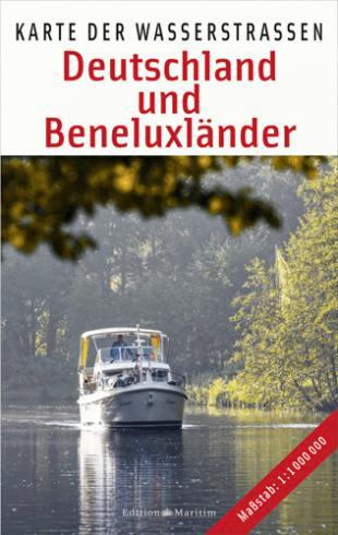 karta: Německo a Benelux - přehled