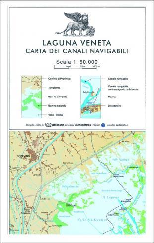 karta: Itálie - Benátská Laguna