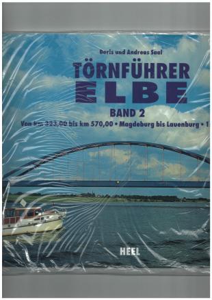 karta: Německo: Labe - úsek Magdeburg/Lauenburg