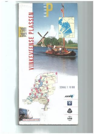karta: Holandsko - plavební mapa P