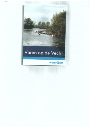 karta: Holandsko - schéma průplavu Vecht
