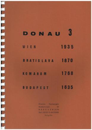 karta: Slovensko - Dunaj