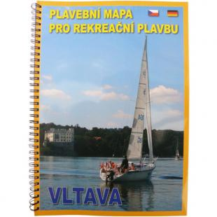 doporučujeme: Vltava - Plavební mapa pro rekreační plavbu