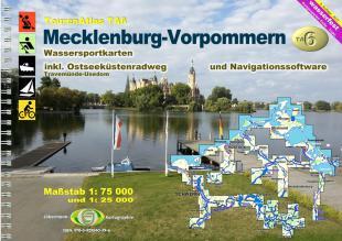 karta: Německo - Meklenbursko-Přední Pomořansko